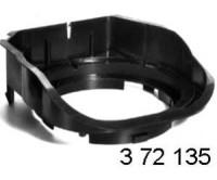 MERCEDES C-Klasse W202 - adaptér repro 165mm zadní plato