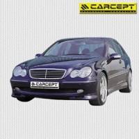 Přední spoiler pod nárazník Mercedes C-Klasse rok výroby 00-