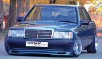 Rieger tuning Spoiler pod přední nárazník Mercedes 190 W201