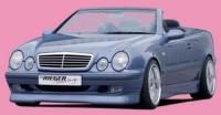 Rieger tuning Spoiler pod přední nárazník Mercedes CLK