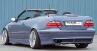 Rieger tuning Spoiler pod zadní nárazník Mercedes CLK