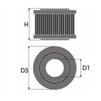 Sportovní filtr Green MERCEDES VANEO 1,6L i  výkon 75kW (102 hp) rok výroby 01-