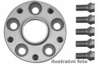 HR podložky pod kola (1pár) MERCEDES W203+209 HA rozteč 112mm 5 otvorů stř.náboj 66,5mm -šířka 1podložky 20mm /sada obsahuje montážní materiál (šrouby, matice)