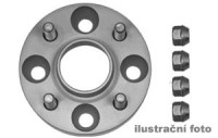 HR podložky pod kola (1pár) MERCEDES 163 (M-Klasse) rozteč 112mm 5 otvorů stř.náboj 66,5mm -šířka 1podložky 25mm /sada obsahuje montážní materiál (šrouby, matice)