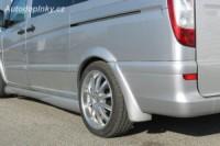 LESTER lemy blatníků 6ks Mercedes Vito -- rok výroby 2003-09
