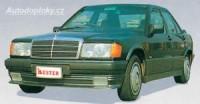 LESTER přední spoiler se světlomety Mercedes 190 W201 od roku výroby 88-