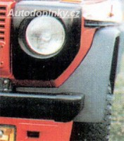 LESTER lemy blatníků Mercedes G 4x4 -- do roku výroby -93