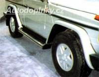 LESTER lemy blatníků 5cm šířka Mercedes G 4x4 od roku výroby 93-