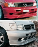 LESTER přední spoiler Mercedes Vito -- do roku výroby -2003