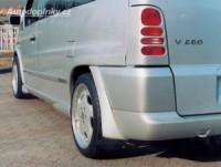LESTER kryty na zadní světlomety Mercedes Vito -- do roku výroby -2003
