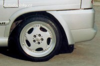 LESTER lemy blatníků Mercedes Viano -- do roku výroby -2003