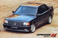EXPRESSION přední spoiler včetně mlhových světlometů Mercedes 190 W201 rok výroby 1989-